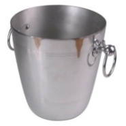 Wine Bucket Aluminium 19 Dia x 21.5cm Fit E0314 & E0344
