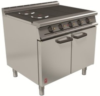 Oven Range E3101 4 Hotplate Electric 16.5kw 3phase 900mm
