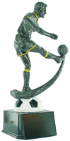 25cm Soccer Player on Ball