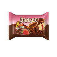 ULKER-Dankek 8Cake Choco &  Strawberry  42gr