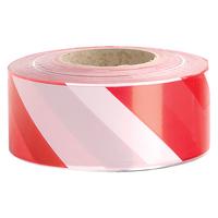 Zebra Tape 50m Red/White