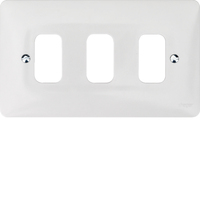 3G White Moulded Plate | LV0301.0617