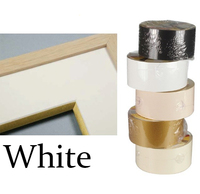 S/Adh Bevel Wrapping Tape White