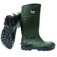 TECHNO PU010440 TROYA GREEN POLLY PU NON SAFETY WELLINGTONS (Ploughing Special Discount Price)