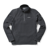 Craghoppers Selby 1/2 Zip Fleece Black Pepper