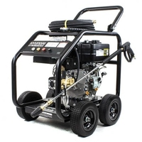 Diesel 10HP K/Start Power Washer  3600Psi PLS10HPD