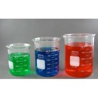 Beaker Pyrex Glass Low Form Graduated Wi