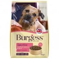 Burgess Sensitive Adult Dog Salmon 2kg