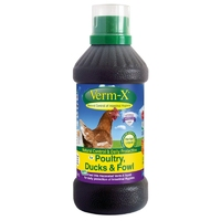Verm-X Liquid for Poultry 500ml x 1 [Zero VAT]