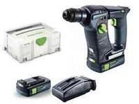 Festool 574925 Cordless d.hammer BHC 18 Li 3,1-Compact GB