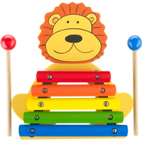 Wooden Lion Xylophone Toy