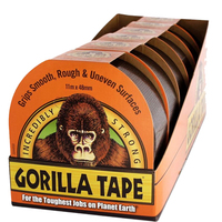 Gorilla Tape 32m x 48mm 6pce