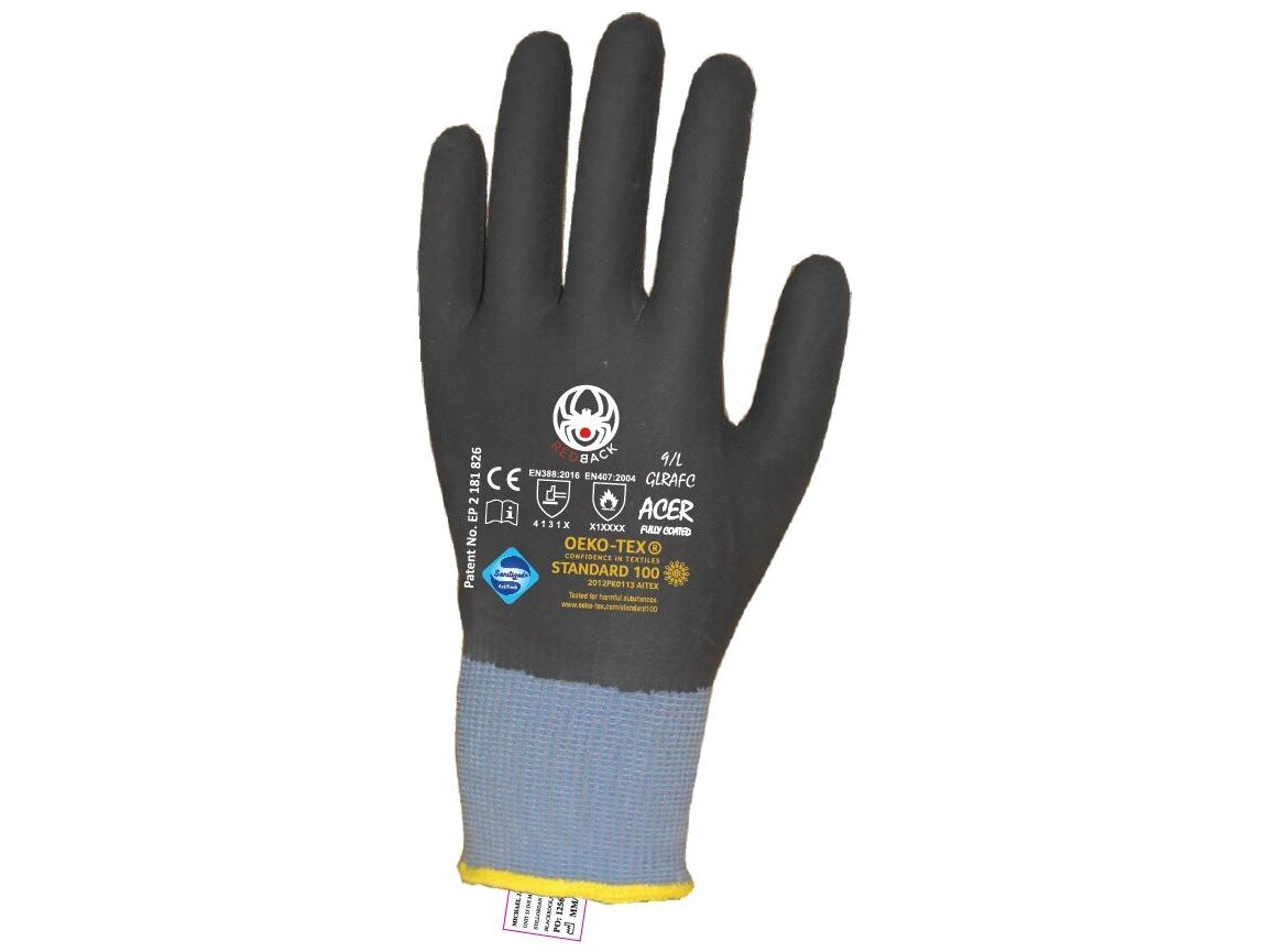 REDBACK Acer Nitrile Foam (NFT) Fully Coated Glove (Pair)