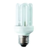 CFL 4U T3 ECO  240V 11WATT ES/E27 WARM WHITE