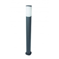 JUPITER 7W IP54 WARM WHITE LED BOLLARD 800mm GREY | LV2107.0217