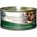 Applaws Cat Can - Tuna Fillet & Seaweed in Broth 70g x 24