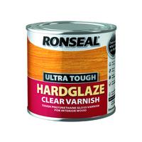 RONSEAL ULTRA TOUGH HARDGLAZE CLEAR VARNISH 250 ML