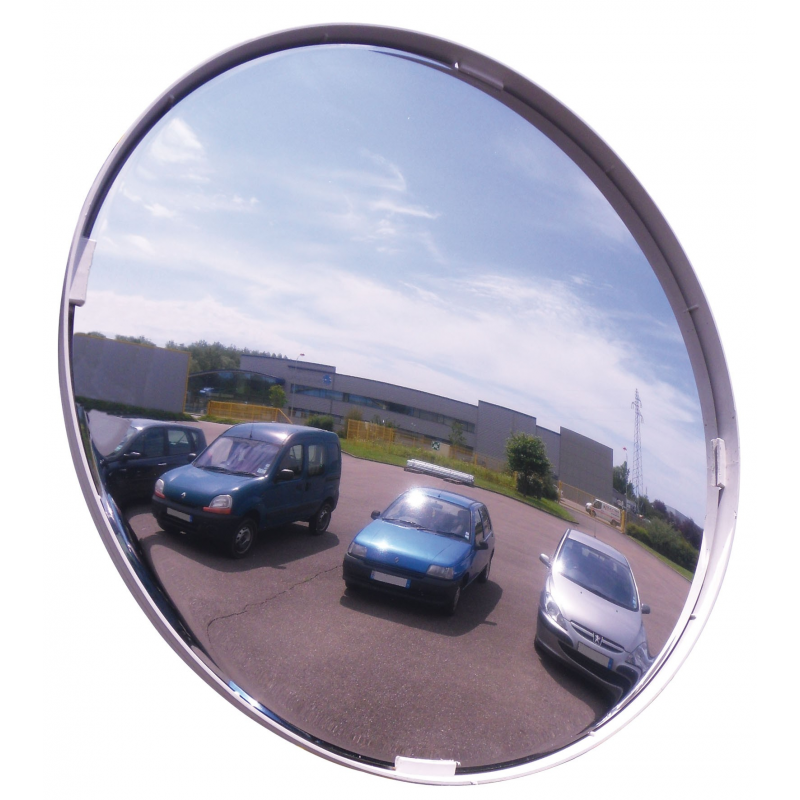 Polymir multi-purpose safety & surveillance convex mirrors