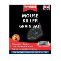 Rentokil Mouse Killer Grain Bait - 5 Sachet