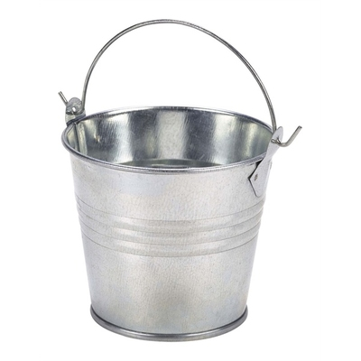 Galvanised Steel Serving Bucket 8.5cm 30cl