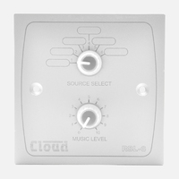 Cloud RSL-6W Remote Source / Volume Level Sel