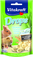 Vitakraft Small Animal Yoghurt Drops 75g x 9