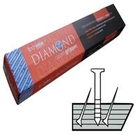 Diamond Dual Purpose Carpet Gripper Pre-nailed for Concrete and Wooden Floors, Medium Pin