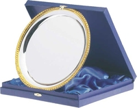 9 x 9cm Blue Salver Case