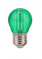 2W G45 LED Green Colour Filament Bulb E27