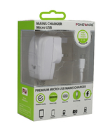 Universal Micro USB Mains Charger 2.1 Amp