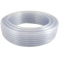 30m Roll Clear PVC Tube (3mm Wall/12mm Internal Dia) (WT1089)
