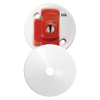 Klik CR64AX 4 Pin Plug in Ceiling Rose White
