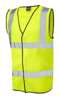 B-Seen Yellow Hi-Visibility Safety Vest
