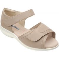 Cosyfeet Taupe Ladies Sandal (Hop)
