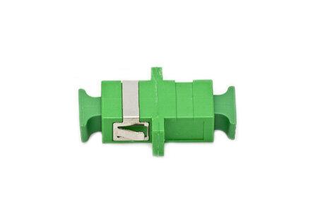 Adapter SC/APC, SM, SX, groen, Zirconia Split Sleeve