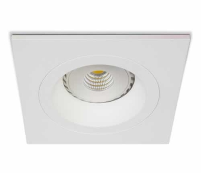ONE Light White Square fixed Downlight