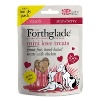 Forthglade Dog Treats Love MINI Chicken 50g x 9