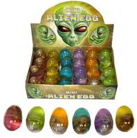 Mini Alien Eggs. (Sold in displays of 24, min order 1 display)