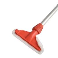 Kentucky Aluminium Mop Handle and Holder, Red