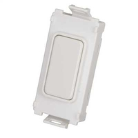 Schneider Ultimate Grid Blank Module Painted White|LV0701.1212