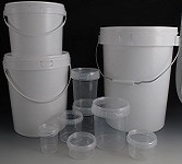 Plastic Buckets, Tubs & PET Bottles