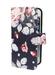FOLIO1284 iPhone 5/SE Pink Rose on Navy