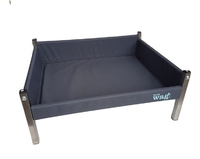 Henry Wag Elevated Dog Bed Ash Grey - Medium x 1