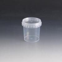 155ml Plastic Tub & Lid.