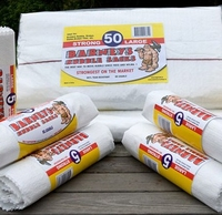 BARNEY RUBBLE SACKS PACK OF 50