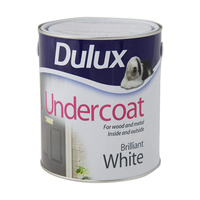 DULUX UNDERCOAT BRILLANT WHITE 2.5LTR