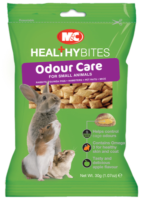 VETIQ Small Animal Odour-Care Treat-Ums 30g x 12