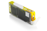 Compatible Canon 0334C001AA CLI-571Y XL Yellow 680 Page Yield