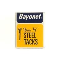 """BAYONET DISPLAY BOX BLUED CUT TACK 15 MM 5/8"""""""