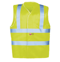 SIOEN 307A Hi-Visibility Flame Retardant Anti Static Vest Yellow or Orange